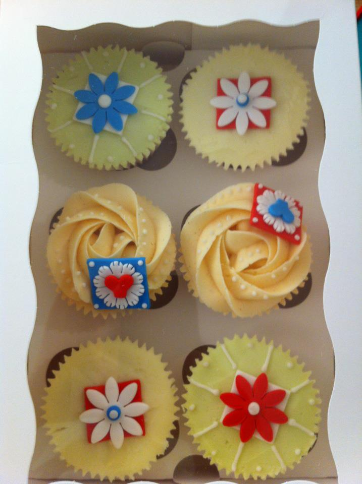Creative Therapy Kate Hall Royal Icing Cupcakes