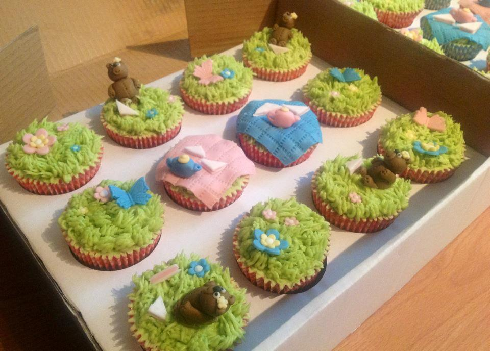 Creative Therapy Kate Hall Teddy Bear's Picnic Cupcakes