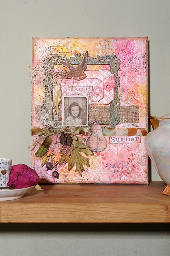 Brenda Brown shares her love of Mixed Media