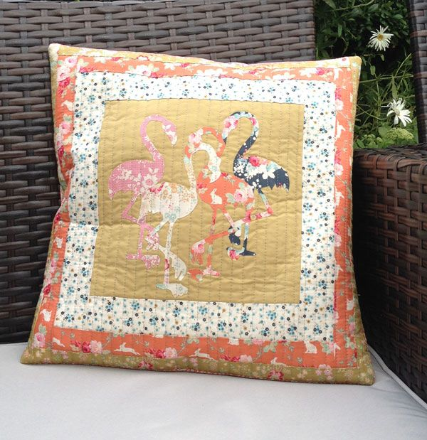 Flamingo Ladies Cushion