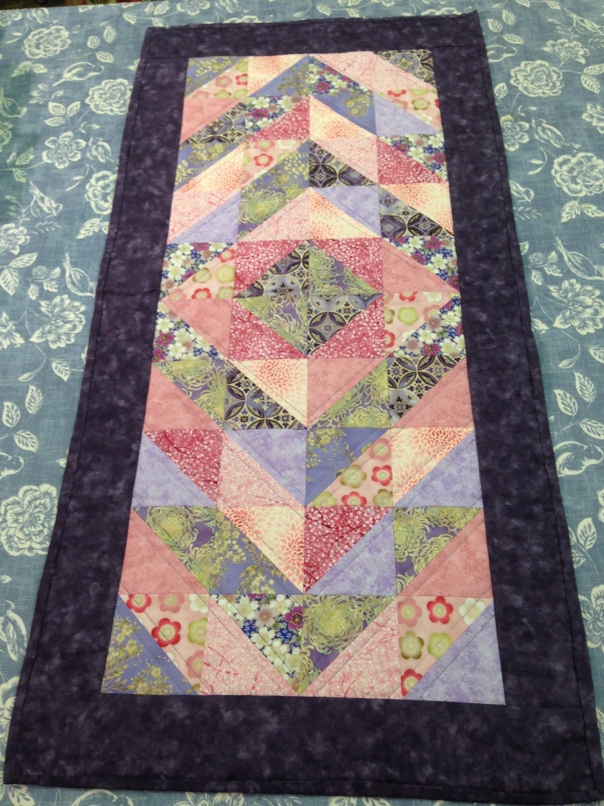 Creative Therapy Helen Kent Flower Quilt