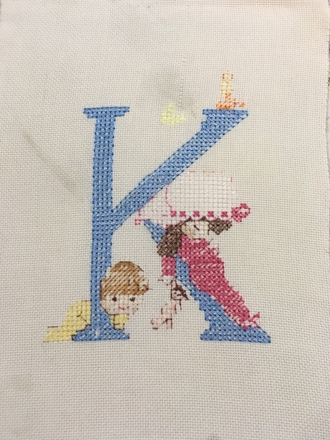 Creative Therapy: Jan Scott cross stitch K