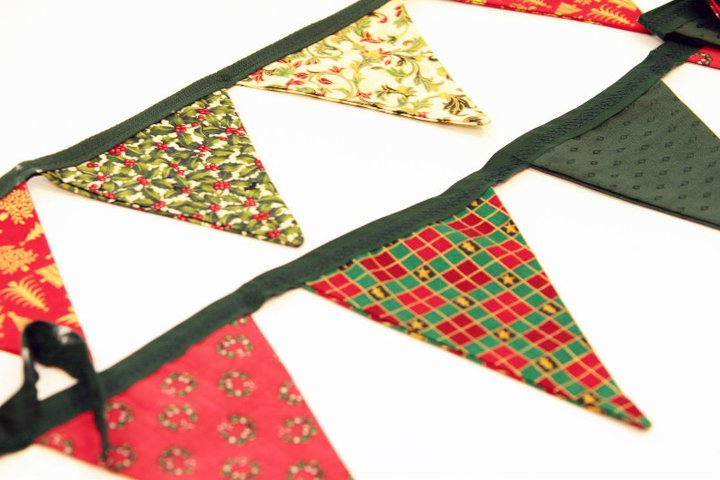 Creative Therapy: Kate Hall Christmas Bunting