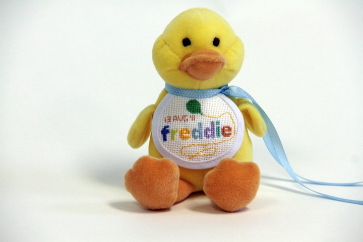 Creative Therapy: Kate Hall: Cross Stitch Duck