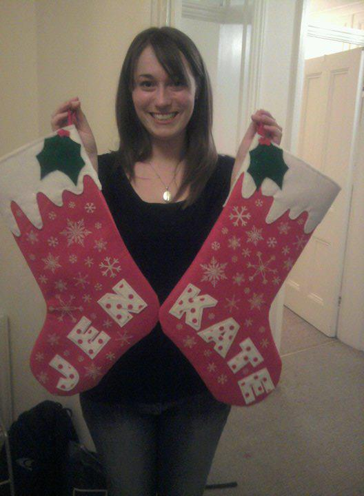 Creative Therapy: Kate Hall Christmas Stockings