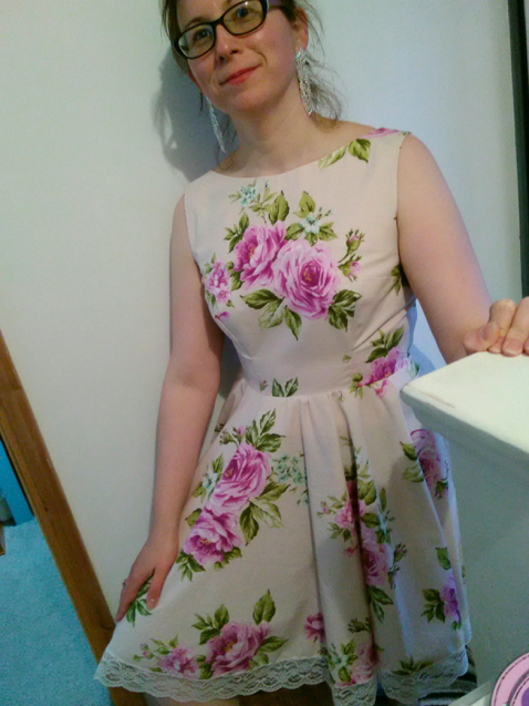 Creative therapy: Rose Dress