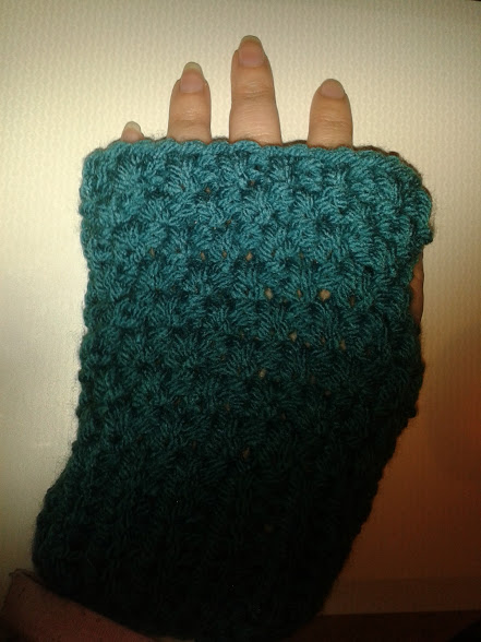 Creative Therapy: Fingerless Mittens