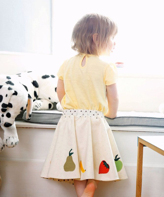 fruity Kids skirt