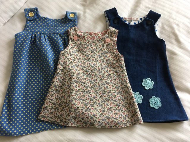 Creative Therapy: Jan Scott toddler dresses