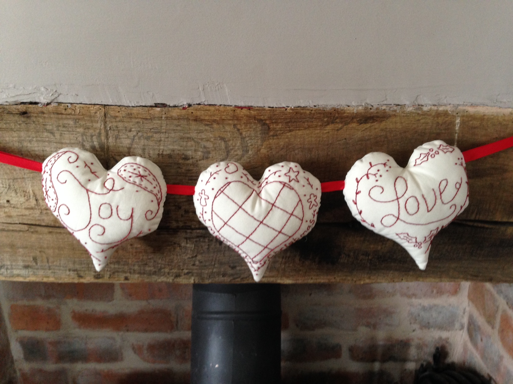 Creative Therapy Helen Kent Heart Bunting