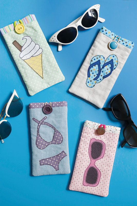 Here Comes Summer Sunglasses Case