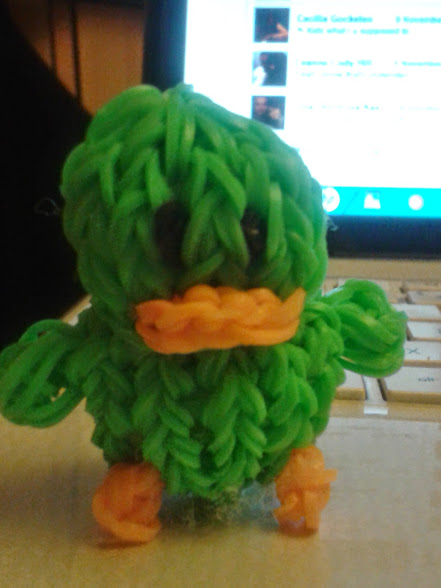 Creative Therapy: Loom Duck