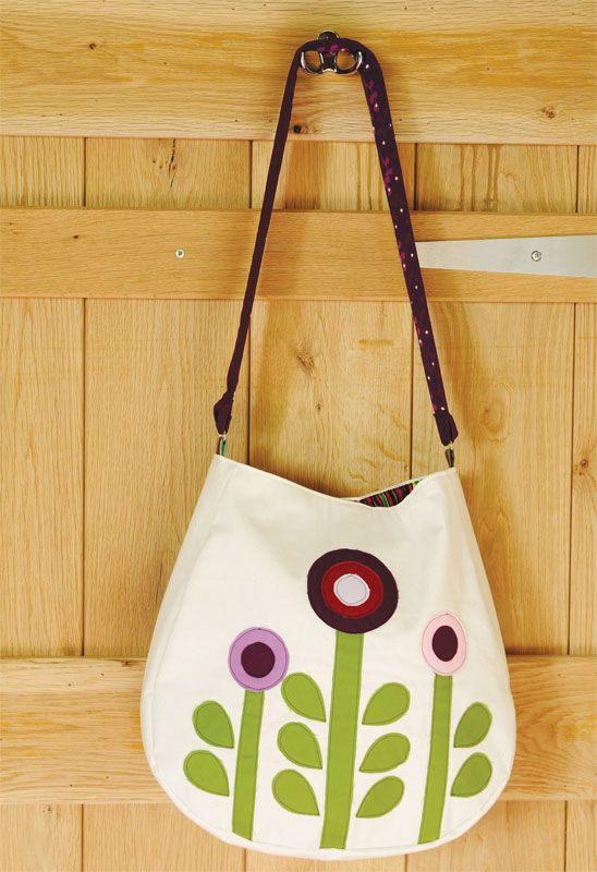 scandi flower bag